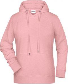 Damen Kapuzen-Sweatshirt mit Raglanärmeln