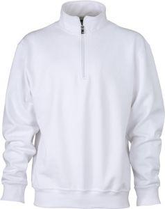 Arbeits Sweatshirt mit Reißverschluss