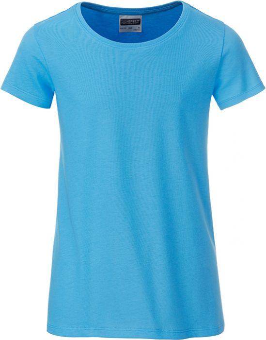 Mädchen T-Shirt aus Bio-Baumwolle als Werbeartikel