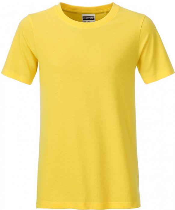 Jungen T-Shirt Bio-Baumwolle als Werbeartikel